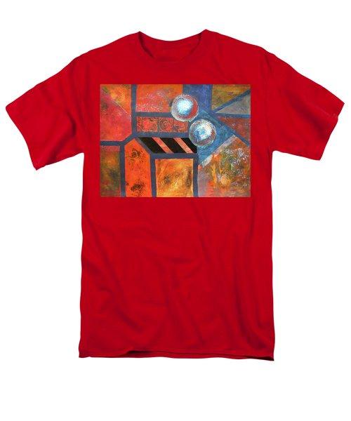 Abstract Autumn Men's T-Shirt  (Regular Fit)