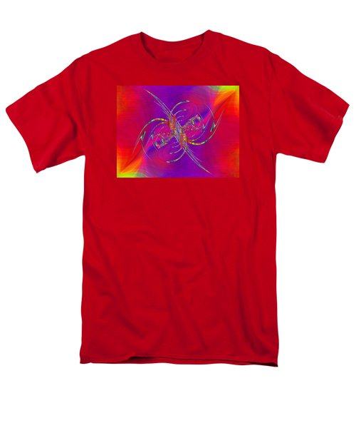 Men's T-Shirt  (Regular Fit) featuring the digital art Abstract Cubed 365 by Tim Allen