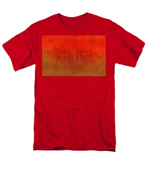 Abstract Sunset  Men's T-Shirt  (Regular Fit) by Andrea Kollo