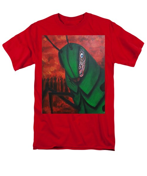 After Bob Died He Realized He Had Made Poor Life Choices. Men's T-Shirt  (Regular Fit) by Chris Benice