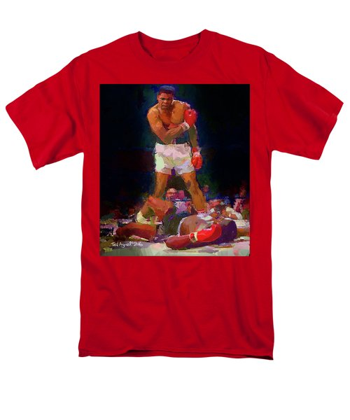Men's T-Shirt  (Regular Fit) featuring the painting Ali by Ted Azriel