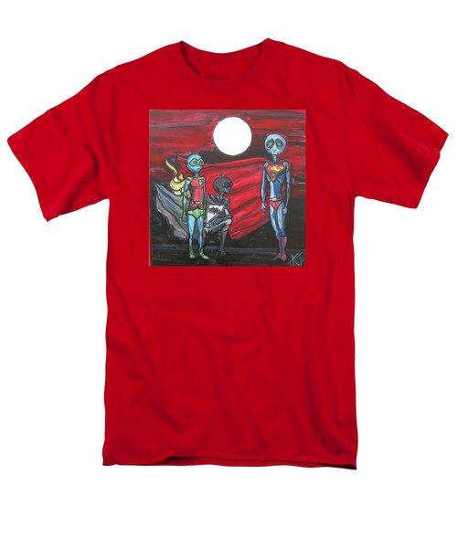 Alien Superheros Men's T-Shirt  (Regular Fit)