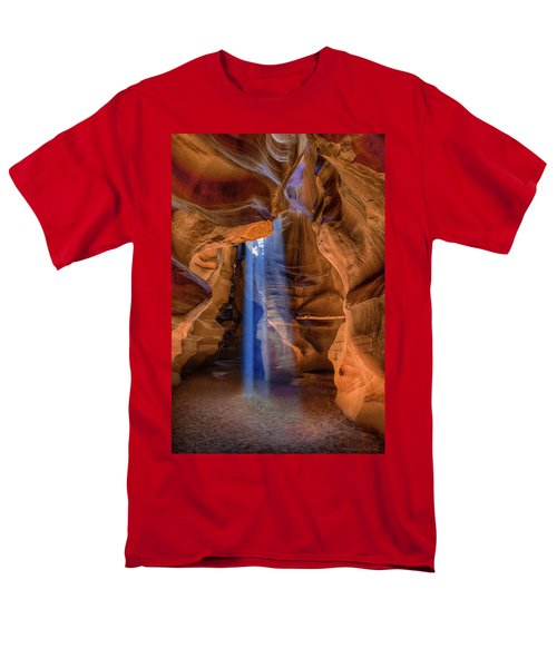 Antelope Canyon Blues Men's T-Shirt  (Regular Fit) by Phil Abrams