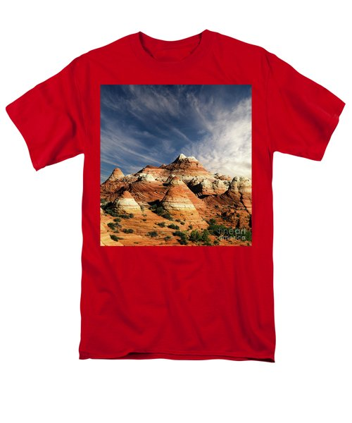 Arizona North Coyote Buttes Men's T-Shirt  (Regular Fit) by Bob Christopher