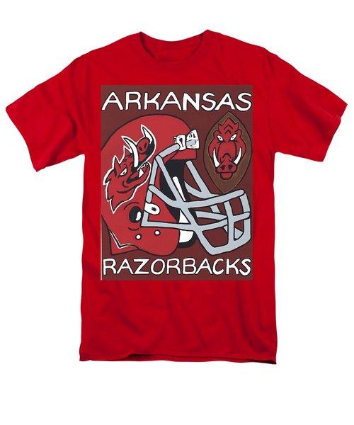 Arkansas Razorbacks Men's T-Shirt  (Regular Fit) by Jonathon Hansen