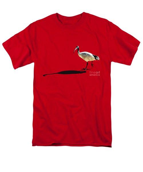 Bribie Island Ibis Men's T-Shirt  (Regular Fit) by Susan Vineyard