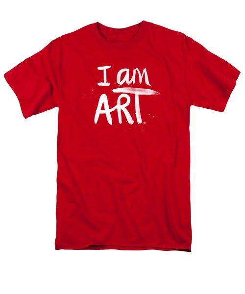 I Am Art- Painted Men's T-Shirt  (Regular Fit)