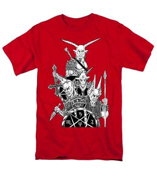 The Infernal Army White Version Men's T-Shirt  (Regular Fit)