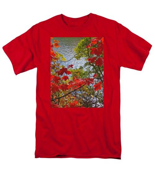 Autumn Lake Men's T-Shirt  (Regular Fit)