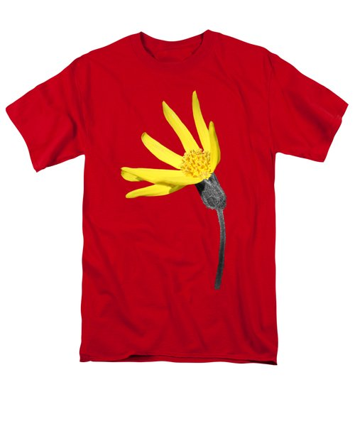 Men's T-Shirt  (Regular Fit) featuring the photograph Yellow Wildflower by Shane Bechler