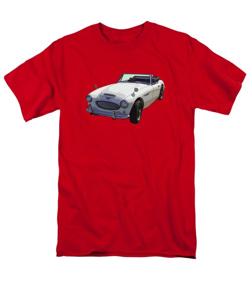 Austin Healey 300 Classic Convertible Sportscar  Men's T-Shirt  (Regular Fit) by Keith Webber Jr