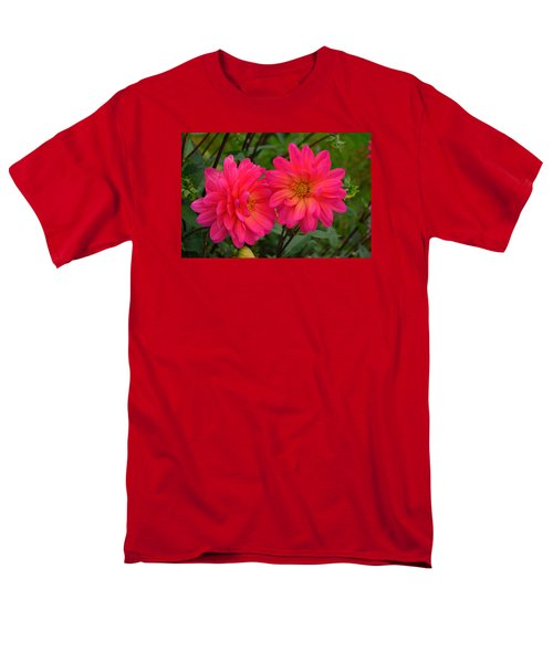 Men's T-Shirt  (Regular Fit) featuring the photograph Autumn Colors Maine by Richard Ortolano