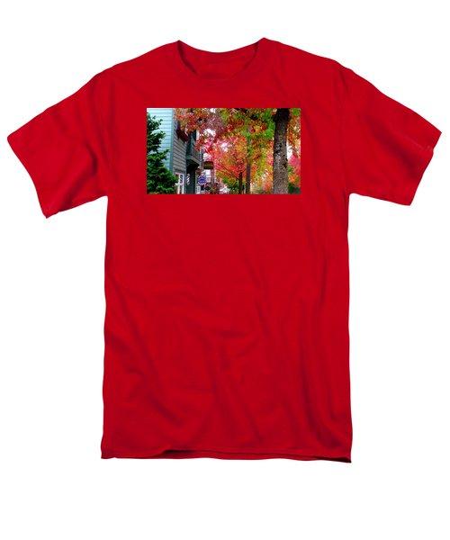 Autumn In Fairhaven Men's T-Shirt  (Regular Fit) by Karen Molenaar Terrell