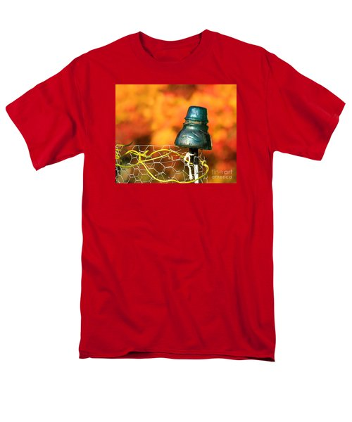 Men's T-Shirt  (Regular Fit) featuring the photograph Autumn Insulator by Debbie Stahre