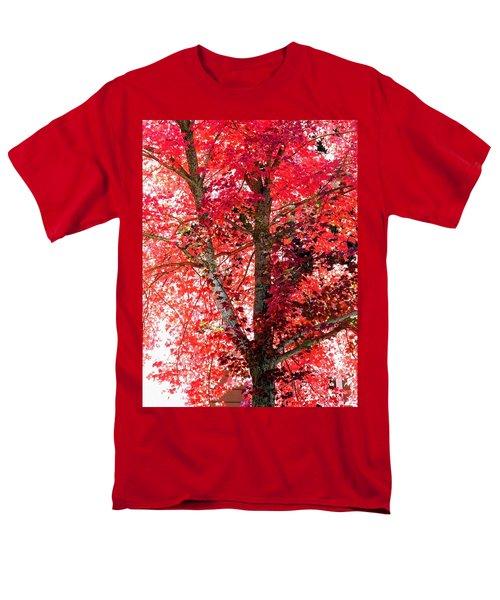 Autumn Tree Men's T-Shirt  (Regular Fit) by Michael Dohnalek