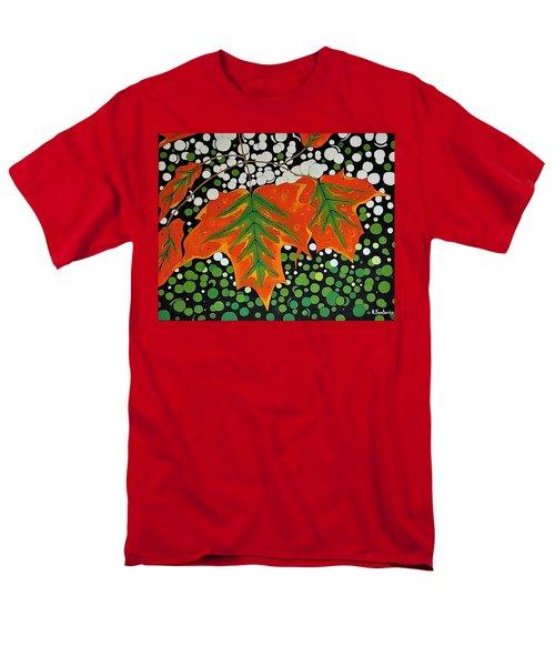 Men's T-Shirt  (Regular Fit) featuring the painting Autumns Kiss by Kathleen Sartoris