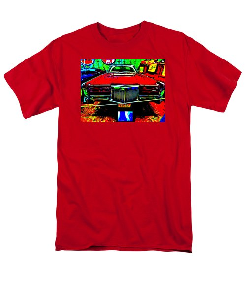 Bahre Car Show II 38 Men's T-Shirt  (Regular Fit) by George Ramos