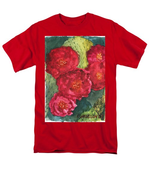 Beavertail Cactus Men's T-Shirt  (Regular Fit) by Eric Samuelson