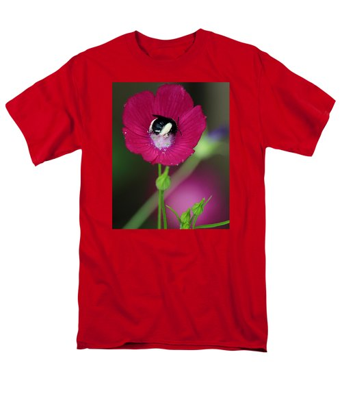 Men's T-Shirt  (Regular Fit) featuring the photograph Bee My Guest by Elizabeth Sullivan