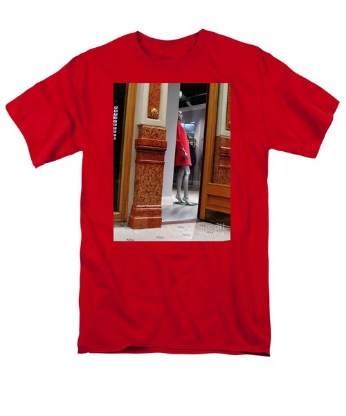Behind Doors Men's T-Shirt  (Regular Fit) by Anna Yurasovsky
