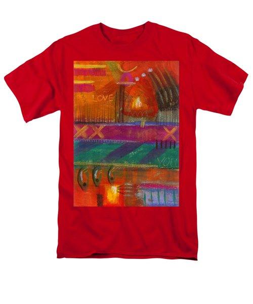 Being In Love Men's T-Shirt  (Regular Fit) by Angela L Walker