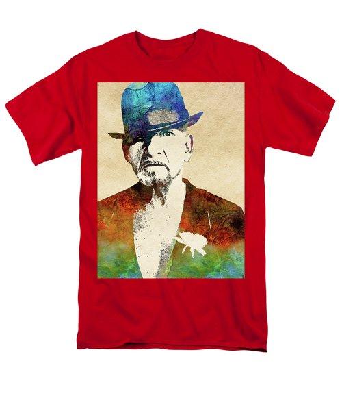 Ben Kingsley Men's T-Shirt  (Regular Fit) by Mihaela Pater