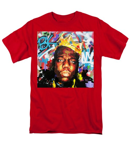 Men's T-Shirt  (Regular Fit) featuring the painting Biggy Smalls IIi by Richard Day