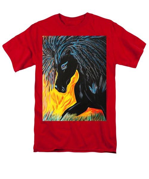 Black Beauty Men's T-Shirt  (Regular Fit) by Nora Shepley