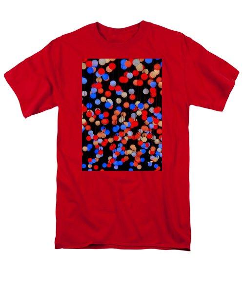 Bokeh Lights Men's T-Shirt  (Regular Fit) by Ranjini Kandasamy