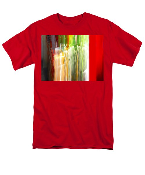 Men's T-Shirt  (Regular Fit) featuring the photograph Bottle By The Window by Susan Capuano