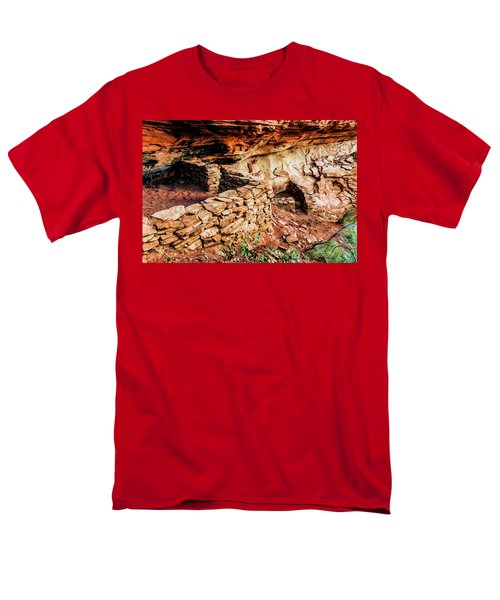 Boynton Canyon 08-012 Men's T-Shirt  (Regular Fit) by Scott McAllister