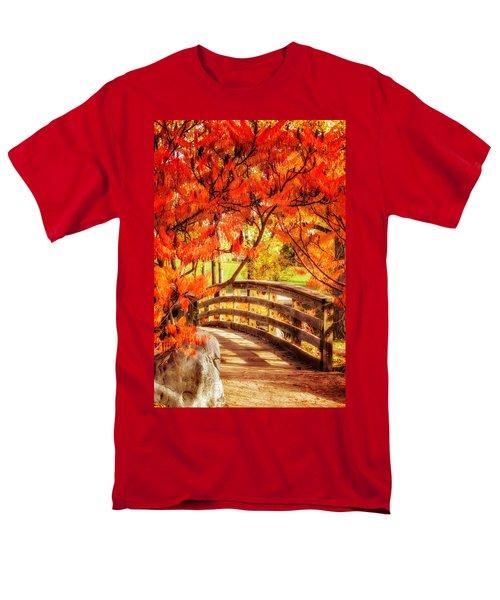 Bridge Of Fall Men's T-Shirt  (Regular Fit) by Kristal Kraft