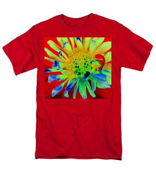 Bright Flower Men's T-Shirt  (Regular Fit) by Diane E Berry