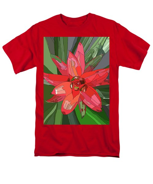 Bromiliad Men's T-Shirt  (Regular Fit) by Jamie Downs