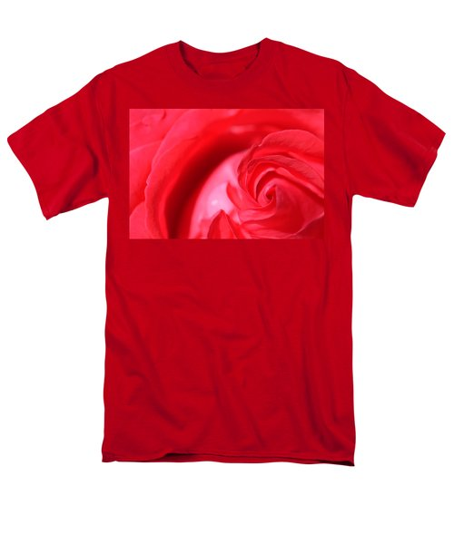 Butler Rose Men's T-Shirt  (Regular Fit) by Michael McGowan