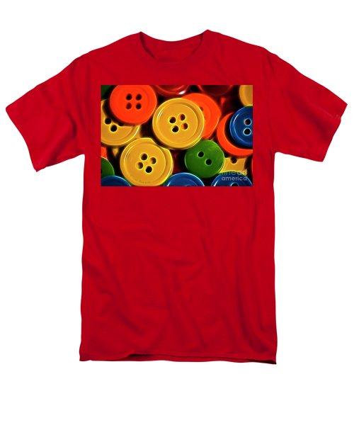 Men's T-Shirt  (Regular Fit) featuring the photograph Buttons by Linda Blair