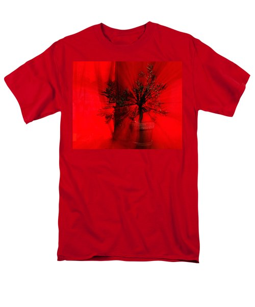 Men's T-Shirt  (Regular Fit) featuring the photograph Cabin Fever Dance by Susan Capuano