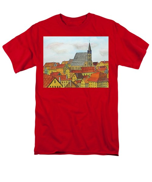 Cesky Krumlov Men's T-Shirt  (Regular Fit) by Jack G Brauer