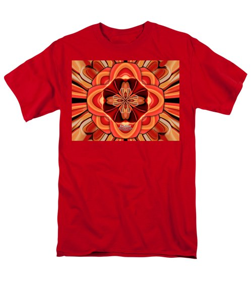 Candle Inspired #1173-4 Men's T-Shirt  (Regular Fit) by Barbara Tristan