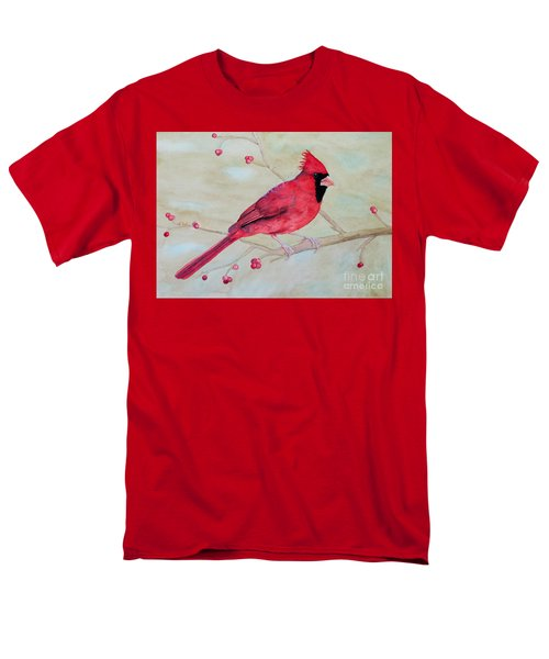 Cardinal II Men's T-Shirt  (Regular Fit) by Laurel Best