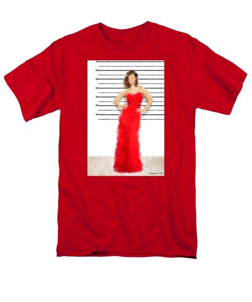 Men's T-Shirt  (Regular Fit) featuring the digital art Carmela by Nancy Levan