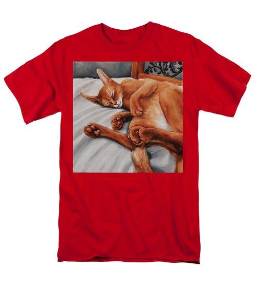Cat Nap Men's T-Shirt  (Regular Fit) by Jean Cormier