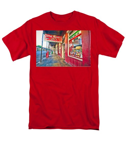 Central Grocery And Deli In The French Quarter Men's T-Shirt  (Regular Fit)