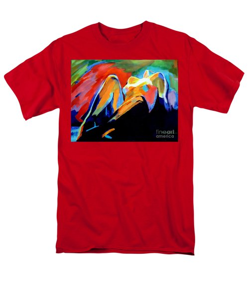 Charge Of The Soul Men's T-Shirt  (Regular Fit) by Helena Wierzbicki