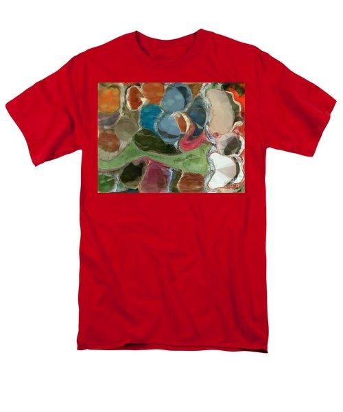 Men's T-Shirt  (Regular Fit) featuring the photograph Blue Monks by Kathie Chicoine