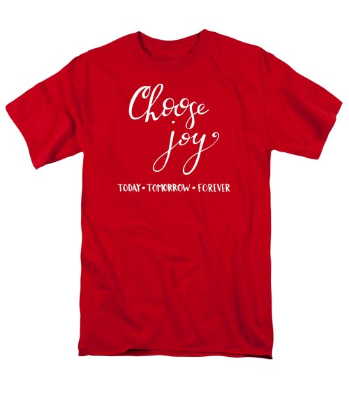 Choose Joy Men's T-Shirt  (Regular Fit)