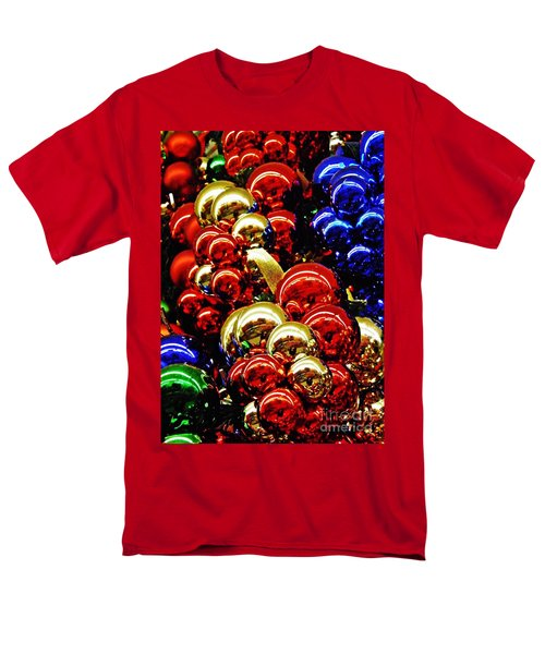 Christmas Abstract 14 Men's T-Shirt  (Regular Fit) by Sarah Loft