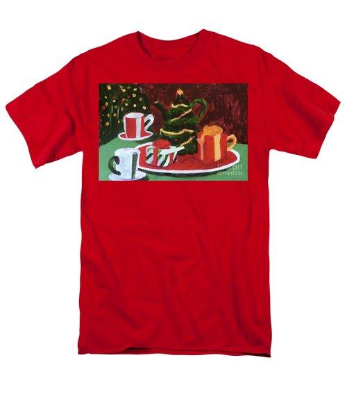 Christmas Holiday Men's T-Shirt  (Regular Fit) by Donald J Ryker III