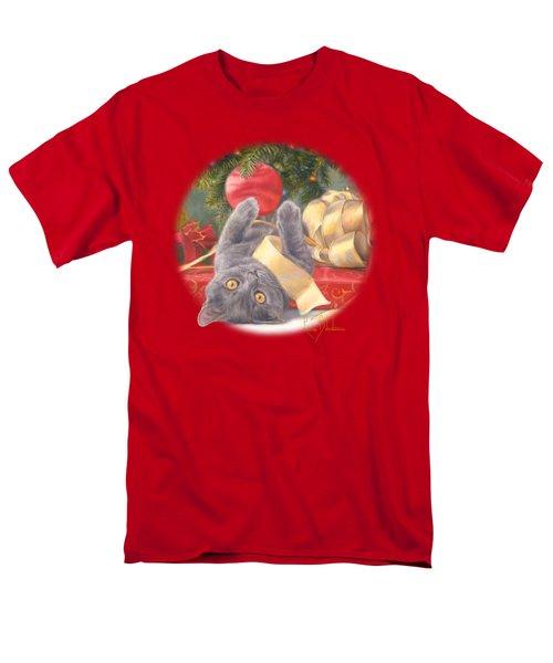Christmas Surprise Men's T-Shirt  (Regular Fit) by Lucie Bilodeau