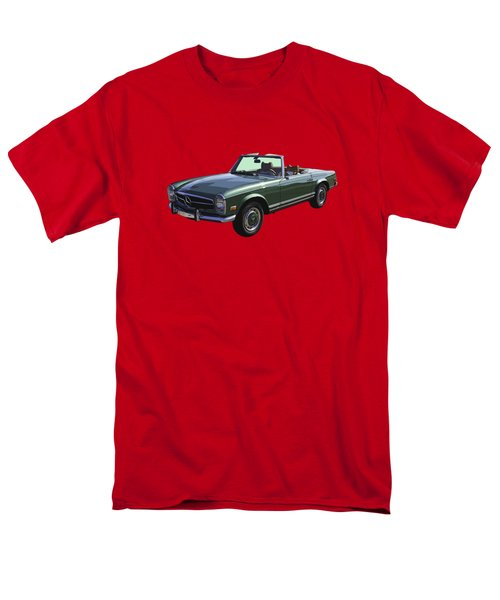 Classic Mercedes Benz 280 Sl Convertible Automobile Men's T-Shirt  (Regular Fit) by Keith Webber Jr